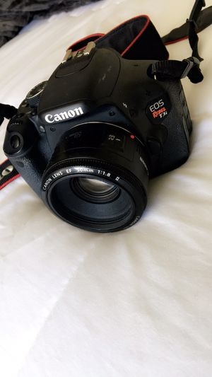 Cannon Rebel T3-I w/ pancake lense + memory card for Sale in Tempe, AZ