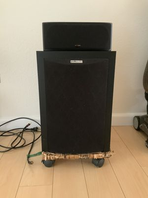 Two Polk audio speakers for Sale in Tracy, CA