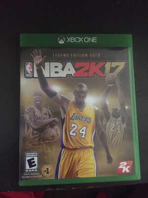 NBA 2K 17(Xbox One) for Sale in Poway, CA