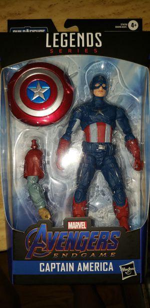 Marvel Legends Avengers Endgame Captain America Fat Thor Baf for Sale in Chicago, IL