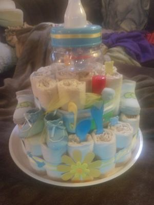 Diaper cake for Sale in Saint Paul, MN