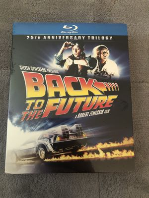 Back to the Future Trilogy Blu-ray Set Still Sealed for Sale in Tampa, FL