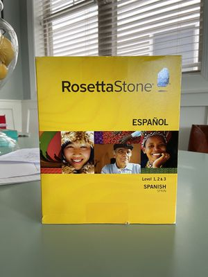 Rosetta Stone Spanish - Levels 1, 2, and 3 for Sale in Chicago, IL
