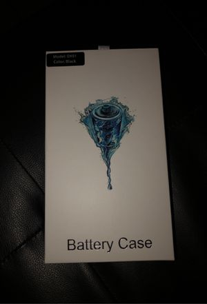 iPhone X plus/Xs max battery case up to 5x battery life (charge phone with case) for Sale in Phoenix, AZ