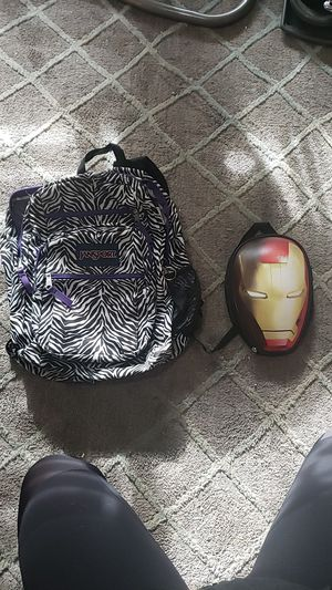 Jansport Backpack, Ironman Lunchbox for Sale in Vancouver, WA
