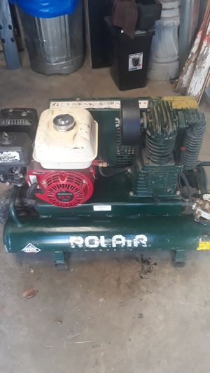 Rolair Honda gx 160 gas powered air compressor for Sale in Independence, MO