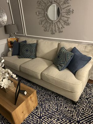 Living room sofa and oversized chair for Sale in Tampa, FL