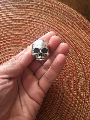 Skull super heavy solid 925 for Sale in Penndel, PA