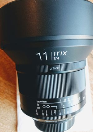 Like new - Irix 11mm f/4 Blackstone lens for Nikon for Sale in Charlotte, NC