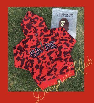Bape Zip Up Jacket for Sale in Riverside, CA