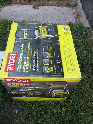 Ryobi 2000 psi brushless electric pressure washer for Sale in Trenton, NJ