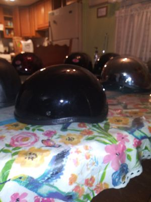 Soa sons of anarchy gloss black novelty non dot helmet size xxl for Sale in Phoenix, AZ