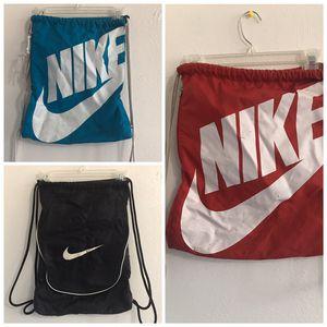 Nike Draw String Backpacks for Sale in Denver, CO