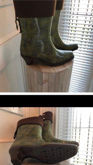 Green rain boots for Sale in Virginia Beach, VA