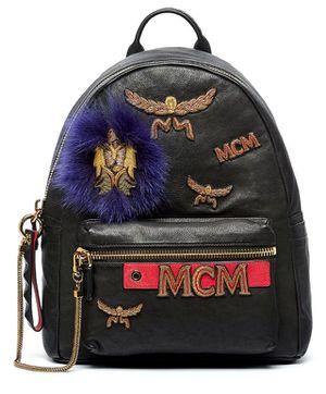 MCM Men's Stark Insignia Lambskin Backpack Retail $2450 for Sale in Alexandria, VA