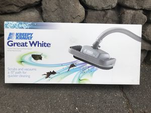 "Pentair Kreepy Krauly Great White 15"" Pool Cleaner for Sale in Seattle, WA"