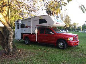 Camper and truck 04 Dodge diesel 5.9 for Sale in West Palm Beach, FL