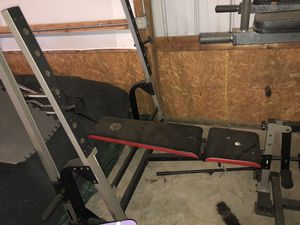 Exercise Bench with Squat Rack for Sale in New Market, MD