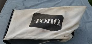 TORO Recycler Grass Bag for Sale in Marlow Heights, MD
