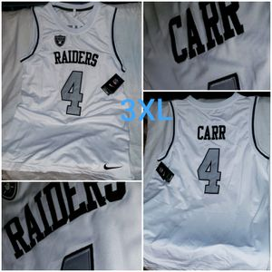 Oakland Raiders stitched sleeveless jersey. NWT for Sale in Waco, TX