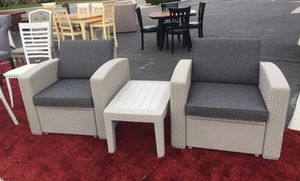 3pc outdoor patio set American Furniture 3730 Stockdale Hwy for Sale in Bakersfield, CA
