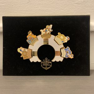 Tokyo Disney Sea Grand Open Countdown Memorial Frame Pin Batch Character Goods for Sale in Los Angeles, CA