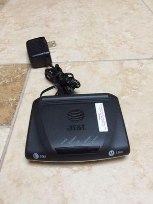 Motorola 3360 DSL Modem (AT&T) for Sale in Orange, CA