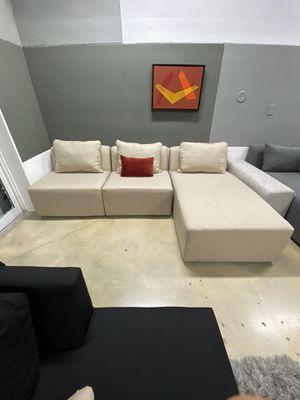 Modern modular sofa couch for Sale in Plantation, FL