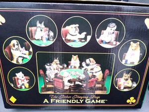 Dogs playing poker statue New for Sale in Waterbury, CT