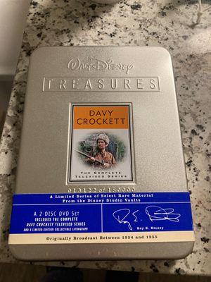 Walt Disney Treasures Davy Crockett The Complete Televised Series for Sale in Winter Haven, FL