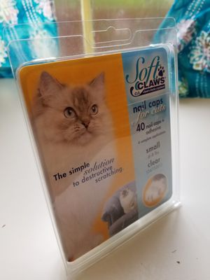 Soft claws cat claw covers for Sale in Cheverly, MD