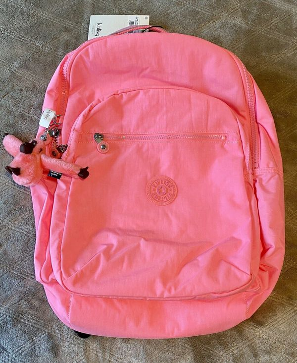 "KIPLING SEOUL LARGE 15"" LAPTOP BACKPACK HEART TONAL"
