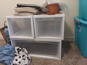 Ikea plastic storage containers for Sale in Oakland, CA