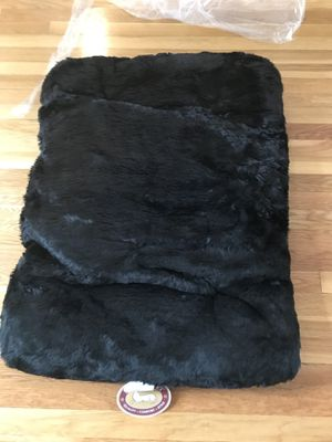 Black dog pillow-Large for Sale in Newton, MA