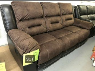 Earhart Chestnut Reclining Living Room Set for Sale in Spring,  TX