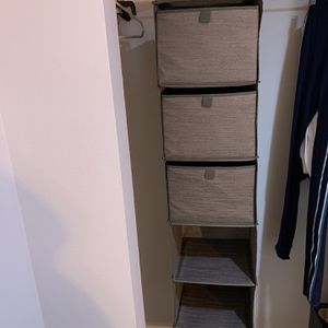 Grey Closet Hanger for Sale in Bonney Lake, WA