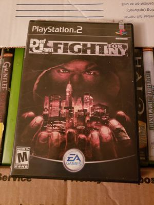 Def Jam Fight for NY ps2 minty condition for Sale in Highland, CA