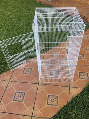BIG CAGE * CHECK ALL PICTURES/ READ DESCRIPTION AND MY OFFERS PLEASE *. SERIOUS BUYERS PLEASE for Sale in Miami, FL