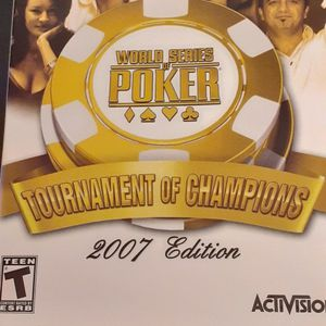 WORLD SERIES Of POKER Tournament Of Champions 2007 Edition (Nintendo Wii + Wii U) for Sale in Lewisville, TX