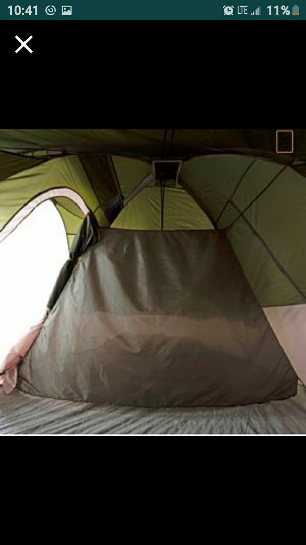 Family 2 room tent Like New