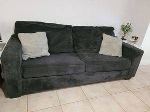 Sofa-Love seat-Dining room table-Glass Coffee table EVERYTHING INCLUDED for Sale in Kissimmee, FL