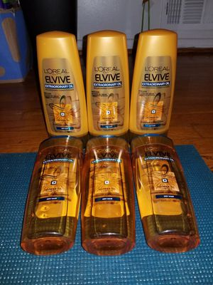6 loreal elvive extraordinary oil for Sale in Glenarden, MD