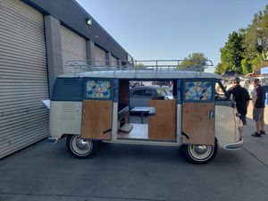 1956 VW Camper bus with Double Doors for Sale in San Juan Capistrano, CA