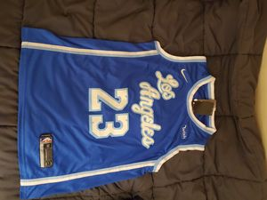 Lakers James jerseys $45 med and large for Sale in Pomona, CA