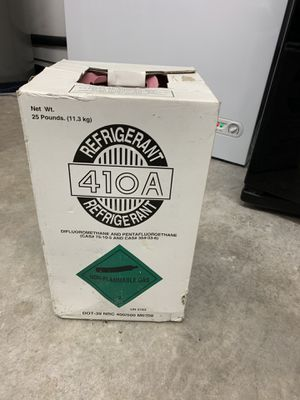Brand new R410A refrigerant/freon 25 pounds factory sealed for Sale in Port St. Lucie, FL