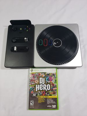 Xbox 360 DJ Hero - Wireless Turntable & Game (Microsoft Xbox 360)fast shipping for Sale in Winter Springs, FL