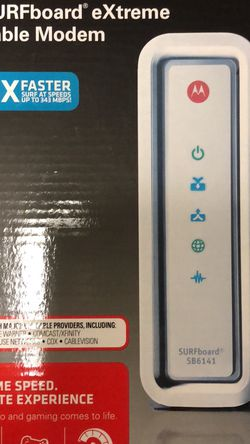 Motorola Surfboard xtreme Cable Modem for Sale in Lancaster,  PA