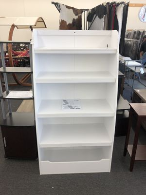 Cute White Kids BookCase (Clearance Sale!) for Sale in Houston, TX