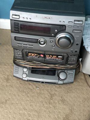 Sony& polk audio bookshelf system for Sale in Kent, WA