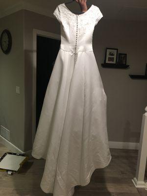 Quinceanera dress sz 8 wedding dress for Sale in Denver, CO